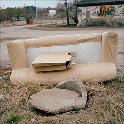 Badsofa at the badlands.
