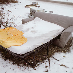 Badsofa at Solna Badlands.
