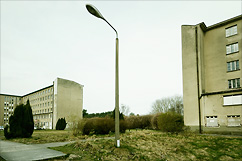 Badlamp at Seebad Prora.
