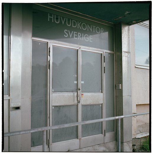"... Head office, Sweden"". Bromma airport area, Ulvsunda. July 2007."